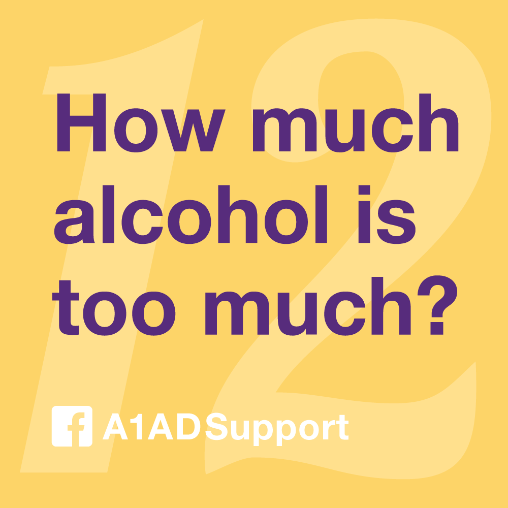 How much alcohol is too much?