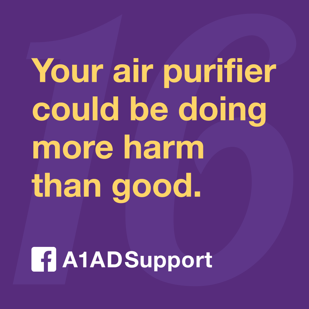 Your air purifier could be doing more harm than good.