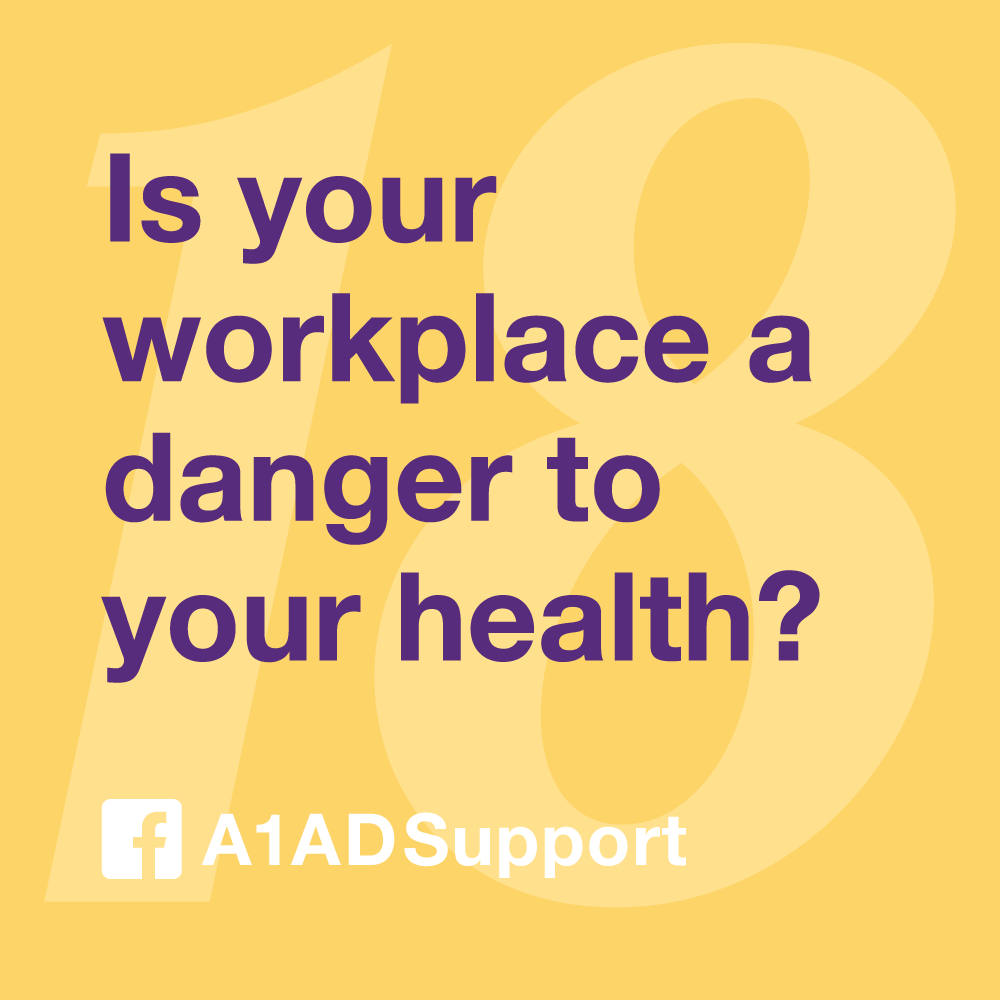 Is your workplace a danger to your health?