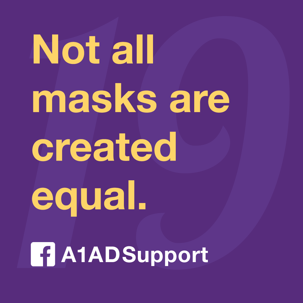 Not all masks are created equal.