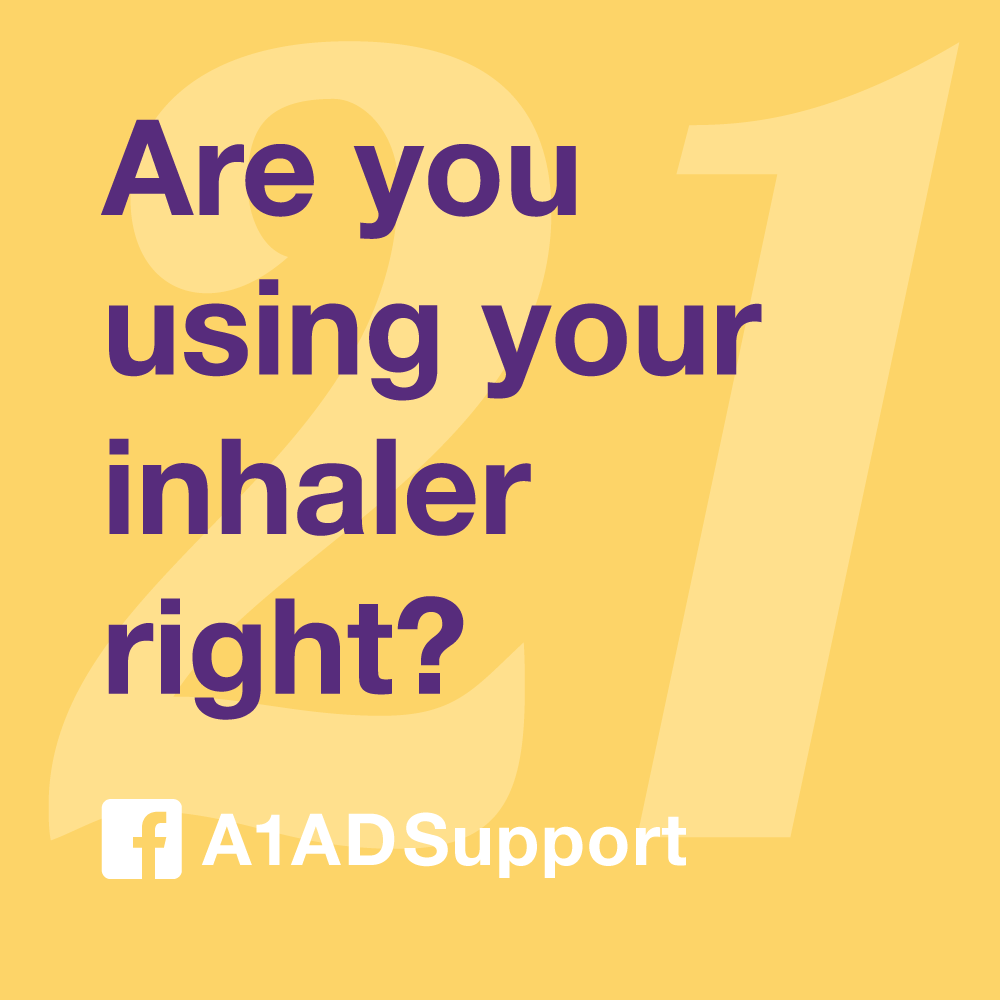 Are you using your inhaler right?