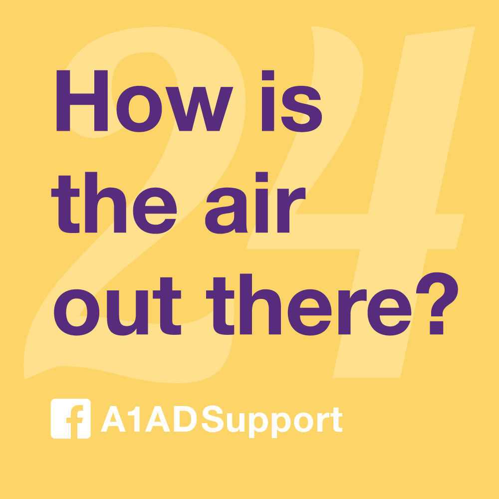 How is the air out there?
