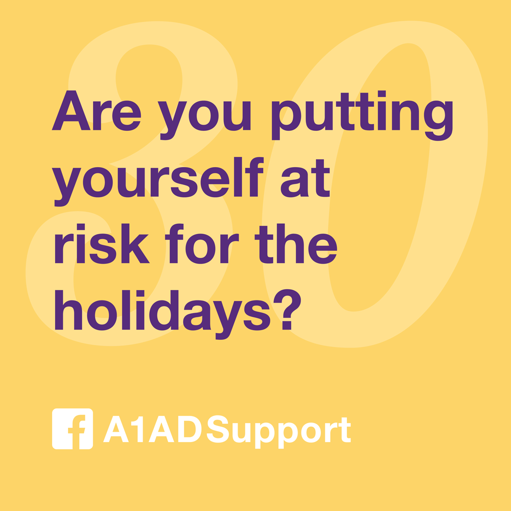 Are you putting yourself at risk for the holidays?