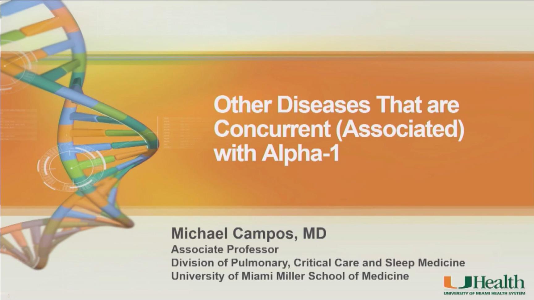 Concurrent Diseases